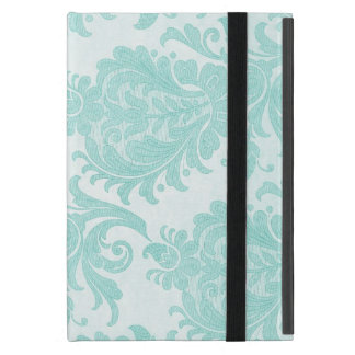 iPad Blue Floral Design Case For iPad Mini