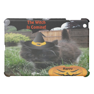 Ipad Case Black Cat The Witch Is Coming