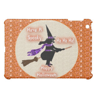 Ipad Case Broom Stick Witch
