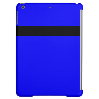 iPad Case Colorblock Colors Blue and Black