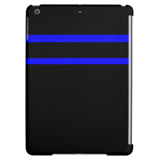 iPad Case Colorblock Colors Blue and Black 2