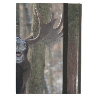 iPad Case: Laughing Moose iPad Air Cover