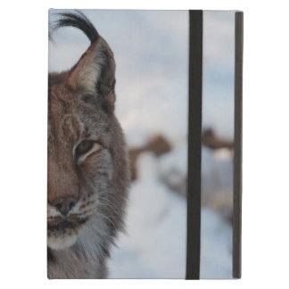 iPad Case: Lynx in Snow Case For iPad Air