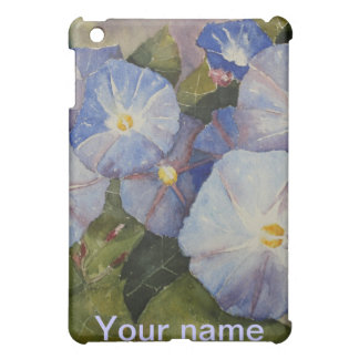 iPAD CASE - Morning Glory Watercolour