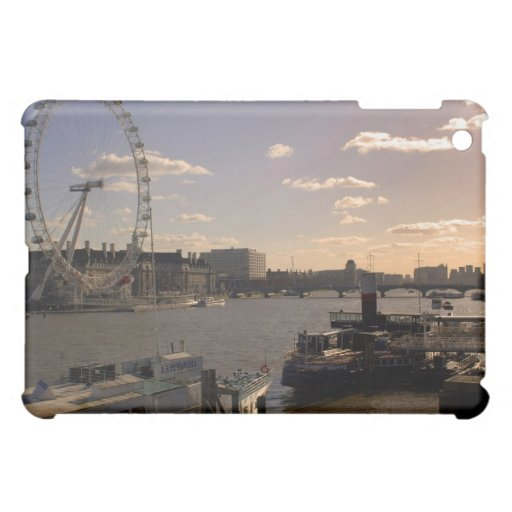 iPad Case of the River Thames London at Sunset