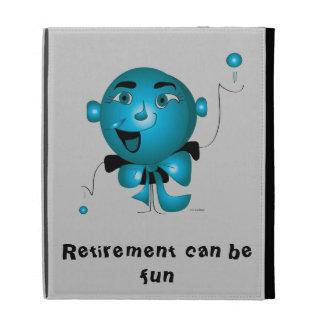 """Ipad case  """"Retirement can be fun"""""""