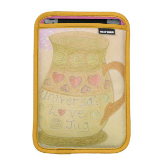 iPad Case Universal Love Jug Design Gold Trim Sleeve For iPad Mini