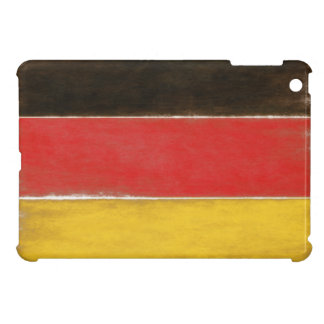 iPad Case with Cool Distressed German Flag