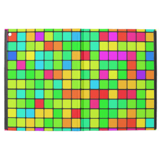 iPad cases retro colorful vibrant blocks