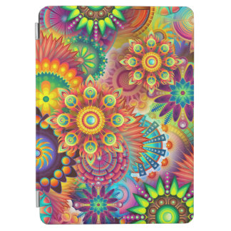 iPad cover, geometric, psychedelic design iPad Air Cover