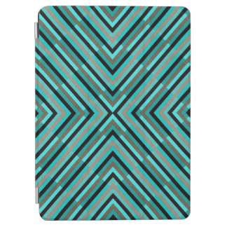 iPad cover with geometric design