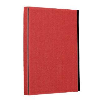 iPad Folio Case - Textured Solid - Vibrant Red