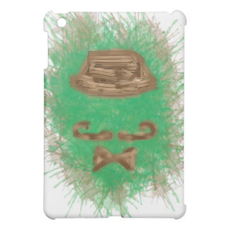Ipad hull mini Green Moustache iPad Mini Covers