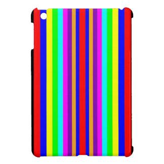 IPAD MINI CASE - Coloured Vertical Stripes