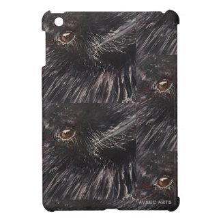 """iPad Mini Case, """"Crow Closeup"""" Cover For The iPad Mini"""