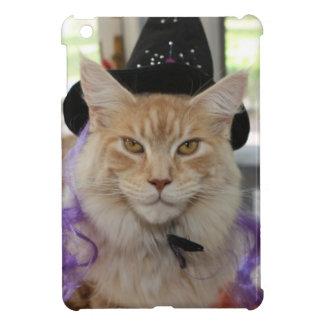 Ipad Mini Case Maine Coon Cat Witch