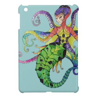 iPad Mini Case Octopus Mermaid