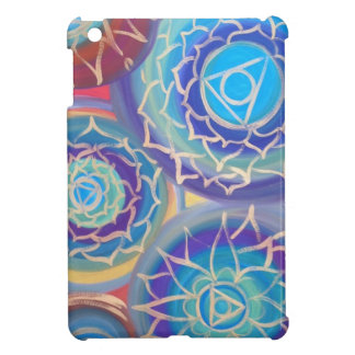 ipad Mini case with a hand painted design