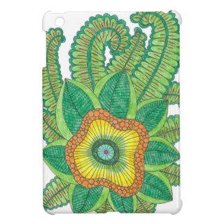 iPad Mini Case with flowers