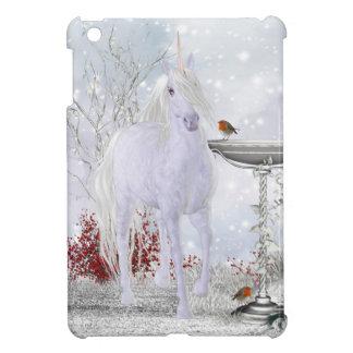 iPad Mini Case With Unicorn Snow And Robin's