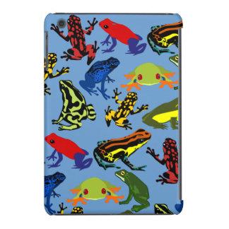 ipad mini Colorful, Fun kids frogs case iPad Mini Covers
