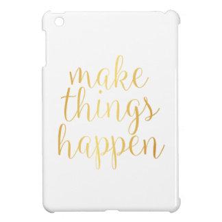 iPad Mini Cover Make Things Happen