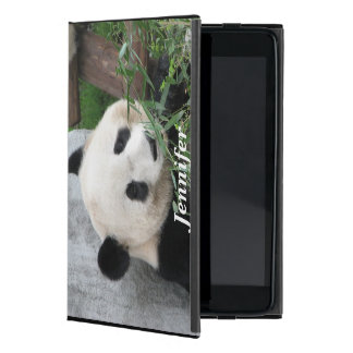 iPad Mini Folio Case, Panda, Black Case For iPad Mini