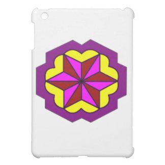 iPad Mini Matte Finish-Star With Yellow Background iPad Mini Covers