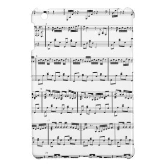 iPad Mini Sheet Music White Cover For The iPad Mini
