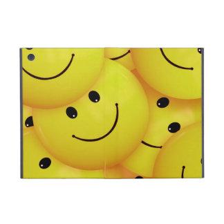 iPad mini yellow smiley faces case
