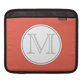 iPad Monogram Template Sleeves For iPads