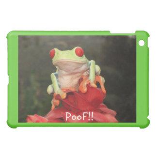 "iPad ""PooF!! "" Frog Cover iPad Mini Cover"