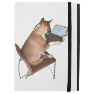 iPad Pro Case Ft. Smeagol the Bull Terrier & iPad