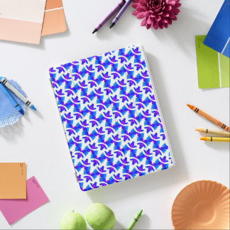 IPAD PRO case Jimette Design white blue purple iPad Cover