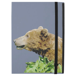 iPad Pro Case with No Kickstand w/ grizzly bear