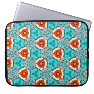 iPad Sleeve in Teal & Orange