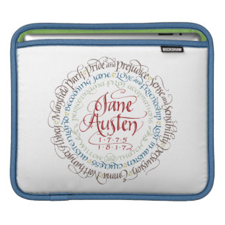 iPad Sleeve - Jane Austen Period Drama Adaptations