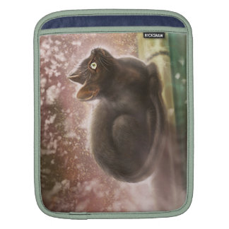 iPad Sleeve - Magic Black Cat