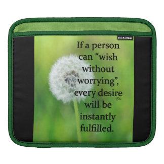 iPad Sleeve Wish Without Worry