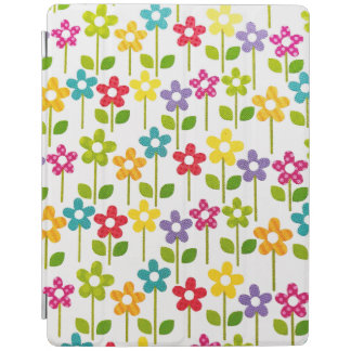 IPad Smart Cover with Colorful Flower Design iPad Cover