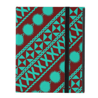 iPad Wallet Case with Masi Print Cover For iPad