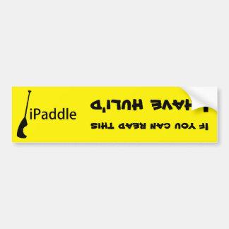 iPaddle Huli Bumper Sticker