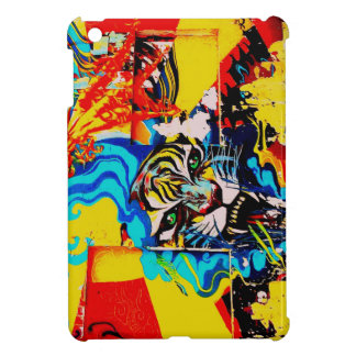 IPadMini Street Art Cool Exclusives Tiger Flames iPad Mini Cover