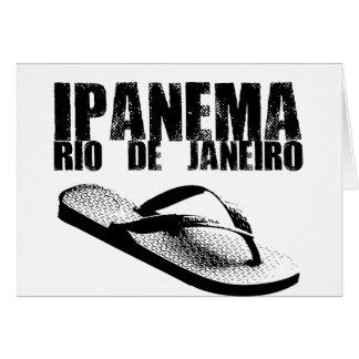 Ipanema, Rio de Janeiro Card