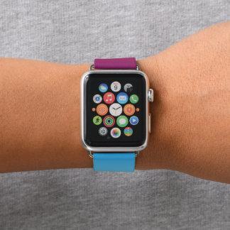 Ipanema Sunset Blue Purple Sky Gradient Fade Apple Watch Band