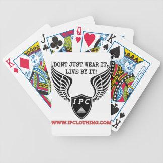 IPC Logo Poker Cards