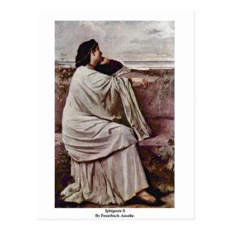 Iphigenie Ii By Feuerbach Anselm Postcard