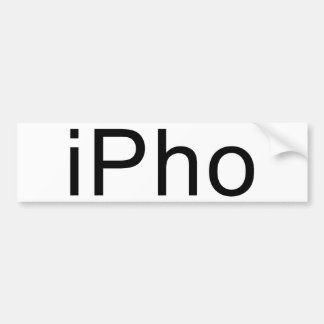 iPho Bumper Stickers