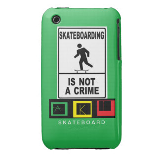 Iphon hull 3 AKI skateboard iPhone 3 Case