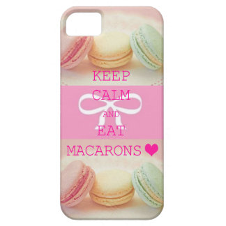 【iPhoneケース】マカロン★KEEP CALM AND EAT MACARONS iPhone 5 ケース